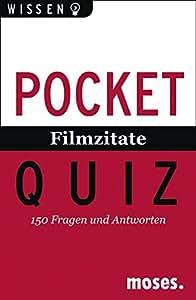 Moses 106333 Pocket Quiz Filmzitate. 150 Fragen und Antworten