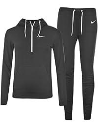 Nike Club Warm-Up - Chándal para mujer negro y blanco Talla:large