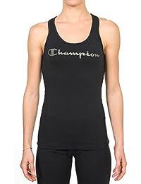 Champion Top para mujer Negro negro Talla:medium