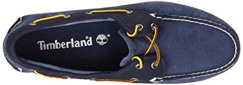 Timberland Brig 2 Eye Boat, Chaussures Bateau Homme Bleu (Blue)