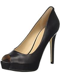 TG. 37.5 EU Nero Guess Footwear Dress Open Toe Scarpe Col Tacco con Plateau D