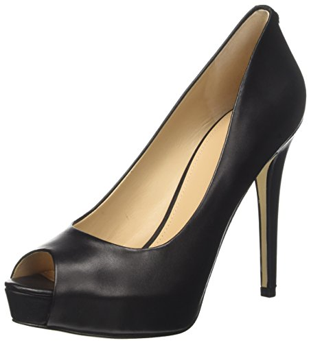 Guess Footwear Dress Open Toe, Scarpe col Tacco con Plateau Donna, Nero, 39 EU