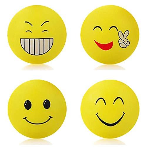 1 stück Wand Verdickung Stumm Tür Aufkleber Lächeln Gesicht Modellierung Gummi Kotflügel Griff Türschloss Schutzpolster Schutz Wand Stick (Diy Weiße Gesicht Malen)