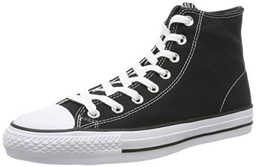 Converse Herren Chuck Taylor All Star Pro 15957 Hohe Sneaker, Schwarz Black/White 001, 44 EU - Schwarz Converse High-top