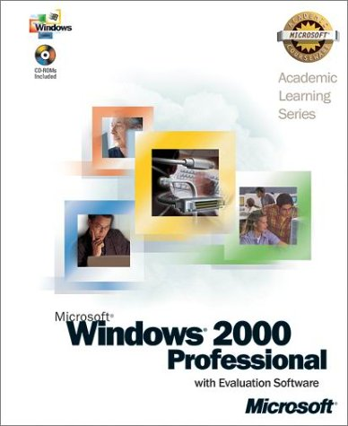 Als Microsoft Windows 2000 Professional with Evaluation Software (Pro-Academic Learning) por Microsoft Corporation