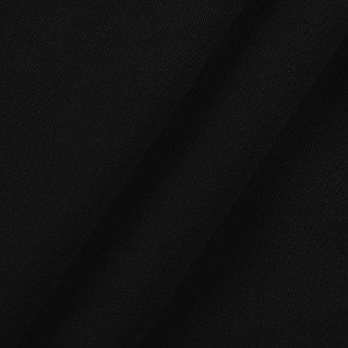 DAY8 Sweat Capuche Femmes Vetements Sport T-Shirt Chic Soiree Printemps Blouse Femme Grande Taille Élégant Pull Femme Hiver Vetement Femme Pas Cher Fashion Chemiser Fille Mode Top Haut Noir