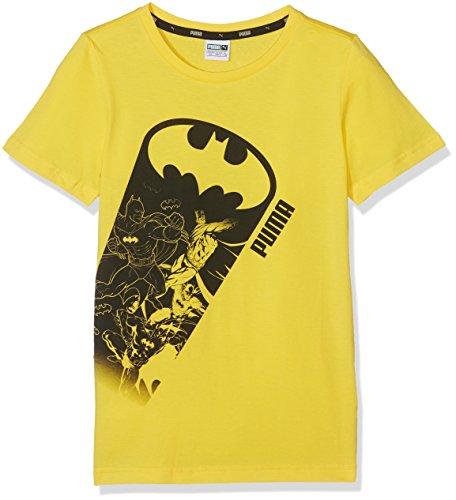 Puma Kinder Justice League Tee T-Shirt, Dandelion, 140 -