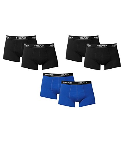 HEAD -  Boxer  - Basic - Uomo 2xBlack/Blue-Black