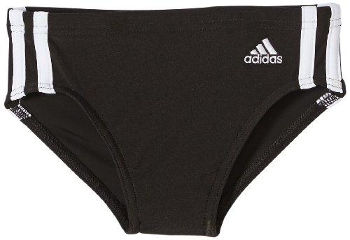 adidas Jungen Badehose 3-Stripes Swim Trunks, Blckdd/Wht, 152, Z33775 - Jungen Badehose Swim Trunks