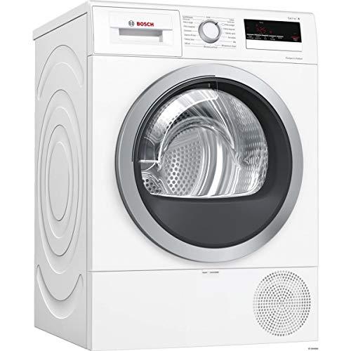 Bosch Serie 4 WTR85V01FF sèche-linge Autonome Charge avant Blanc 8 kg A++ - Sèche-linge (Autonome, Charge avant, Pompe à chaleur, Blanc, Boutons, Rotatif, Droite)