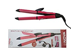 Nova Ceramic Coating Hair Straightener&Curler