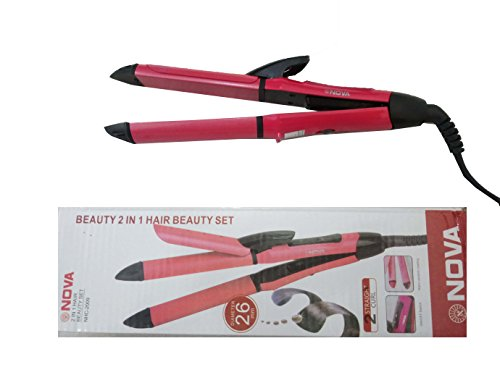 Nova Ceramic Coating Hair Straightener and Curler