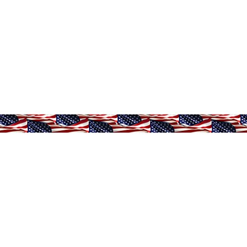 EDUPRESS Patriotische Grenze trim Straight Leg Patriotic -