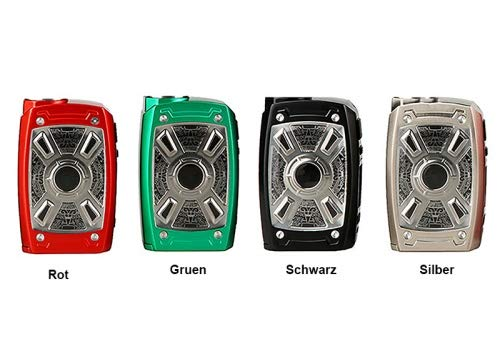 Tesla XT Mini 220w TC Box Mod Akkuträger Farbe Schwarz