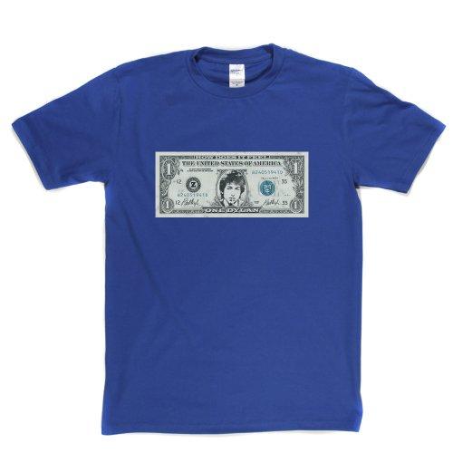 Dylan Dollar Music Tee T-shirt Königsblau