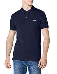 Lacoste Herren Poloshirt PH4014, Blau (Marine), XX-Large (Herstellergröße: 7)