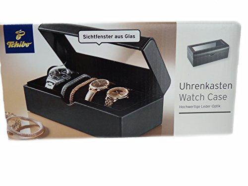TCM Tchibo Uhrenkasten Uhrenbox Uhrenaufbewahrung Uhrentruhe Box