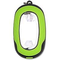 bossxin portatile COB LED torcia portachiavi torcia magnetica, per campeggio, auto riparazione, emergenze, Green