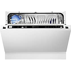 Electrolux ESL2400RO Fully built-in 6places A+ White dishwasher - dishwashers (Fully built-in, B, A+, Compact, White, Buttons)