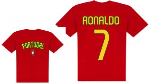World of Football Player Shirt Portugal Ronaldo - 140