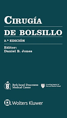 Cirugía de bolsillo, 2e (Pocket Notebook Series) por Daniel B. Jones MD  MS