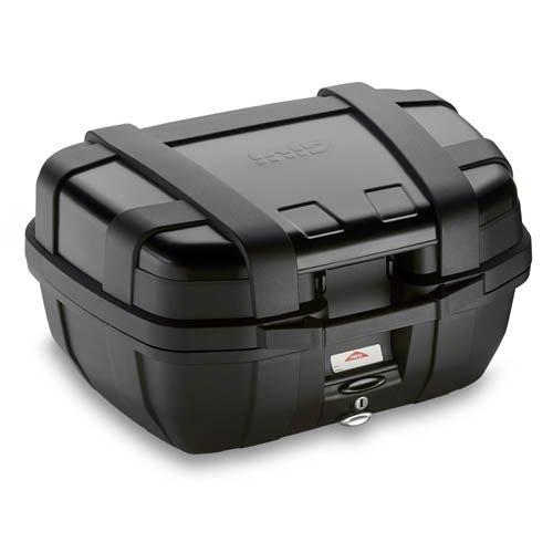 Givi TRK52B Trekker Monokey Baúl Negro con Cover de Aluminio, Carga Máxima 10 Kg