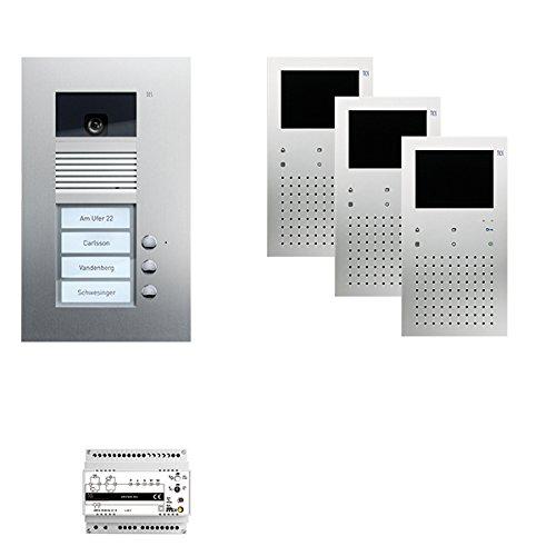 TCS PVU1730-0010 pre:Pack Video Freisprechen 3Tasten UP 24 V