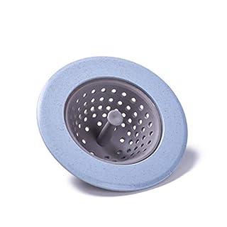 Jullyelegant Sink Strainer Basket Mesh Filter Sink Drain Plug Cover Anti-blocking Strainer Residue Stopper Kitchen Bathroom Tools