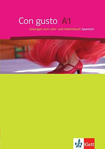Con gusto A1: Lösungen zum Lehr- und Arbeitsbuch Spanisch
