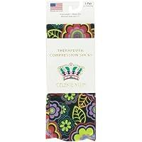 Celeste Stein Therapeutic Compression Socks, Black Vogue, 8-15 mmhg, .6 Ounce by Celeste Stein preisvergleich bei billige-tabletten.eu