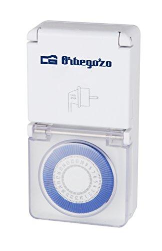 Orbegozo PG 10 – Programador eléctrico exterior 24 horas