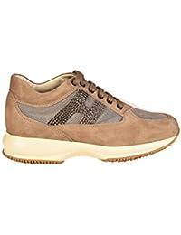 Hogan Rebel Scarpe Sneakers Alte Donna in camoscio Nuove r182 Beige · EUR  198 4b75ac52fa5