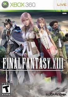 """XBOX360-Spiel """"Final Fantasy XIII Ultimate Hits """" English Version 3-Disc Farbe Platte"""