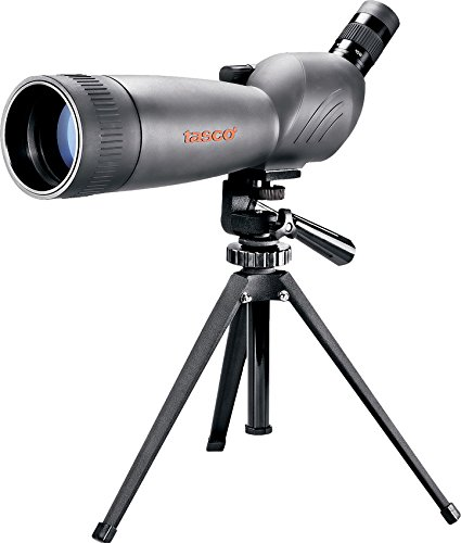 Tasco World Class 45º Telescopio, Unisex Adulto, Gris, 20-60 x 80 mm