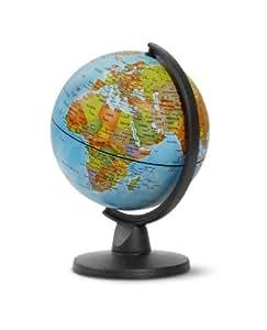 "Globe terrestre NON lumineux 16 cm ""small"" bleu"