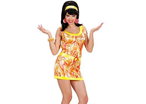 Widmann 7401T Erwachsenenkostüm 70er Mädchen, 48 (Mod 70er Jahre Kostüm)