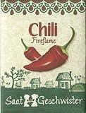 Die Stadtgärtner Chili-Saatgut | feurig scharf | Chili-Samen der Sorte