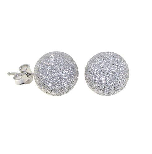 Orecchini donna piccoli in argento 925 anallergico - Linea Italia gioielli Made in Italy