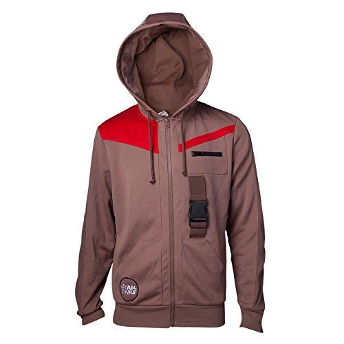 Jedi Sweatshirt Finn's Jacket Hoodie Brown-XL (Weltraum-outfits)