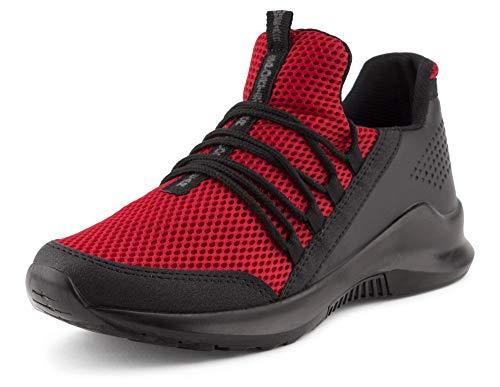 Fusskleidung Herren Sportschuhe Strick Laufschuhe Freizeitschuhe Sneaker Turnschuhe Gym Runners Rot EU 41 Gucci White Sneakers