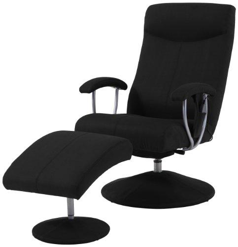 Sino-Living se-901Fauteuil de massage avec repose-pieds en cuir synthétique No