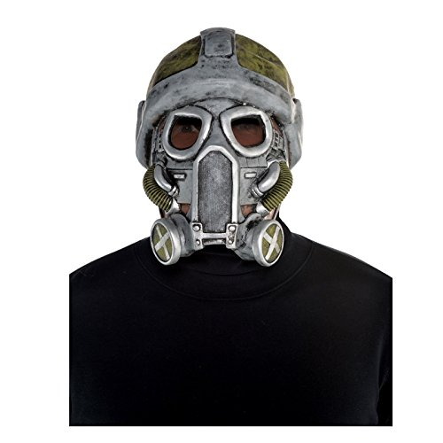 Nuclear Apocalypse Latex Gas Maske Kostüm Zubehör