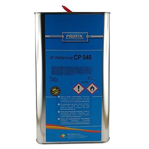 Preisvergleich Produktbild PROFIX 5 Liter Kanne 2 K Verdünner CP 040 2K Universal Verdünnung