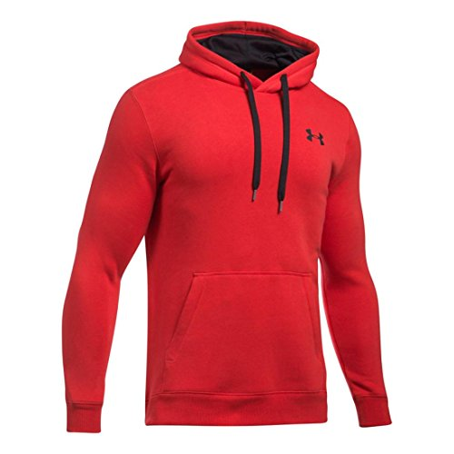 Under Armour Herren Rival Fitted Pull Over Oberteil rot