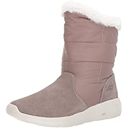 Skechers On-The-Go City 2, Botas para Mujer, Beige (Taupe), 39 EU