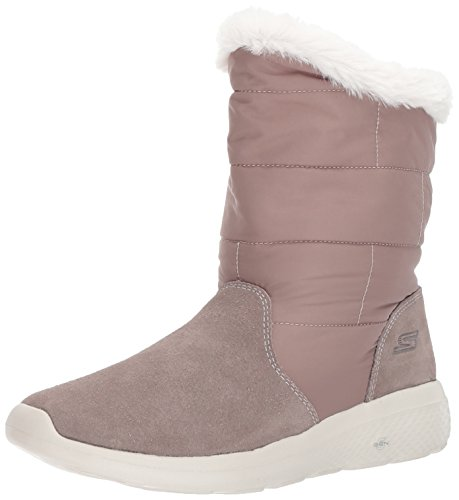 Skechers Damen on-The-Go City 2 Stiefel, Beige (Taupe), 40 EU