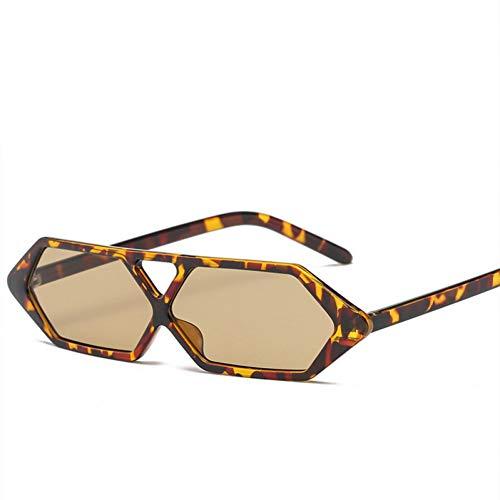 Taiyangcheng Rechteck Sonnenbrille Frauen Cat Eye Frame Sonnenbrille Weibliche Brillen Für Männer,Braun
