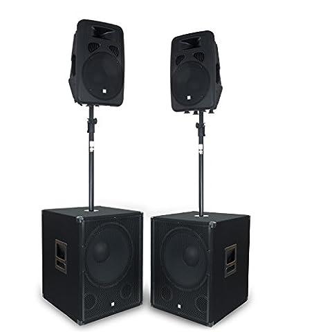 eSmart Germany Soundsystem DOUBLE YAMATO-SIDOX | 46 cm (18