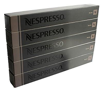 50 Nespresso ROMA Coffee Capsules