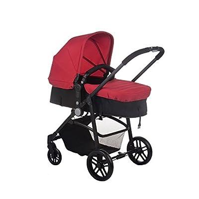 Cochecito bebé Roller Red